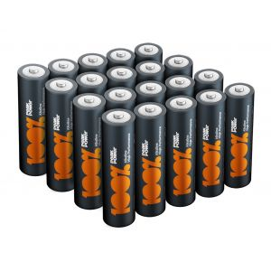 AA LR6 Batteries - Pack of 20